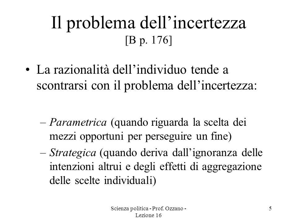 Il problema dell'incertezza [B p. 176]